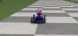 Go-kart hand break turn