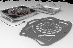 Stainless Laptop Cooler Fan