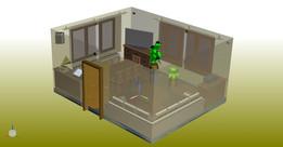 Ground Living Room 5.5 x 4.5 (m)