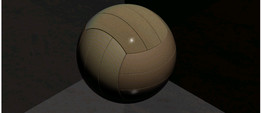 wooden volleyball