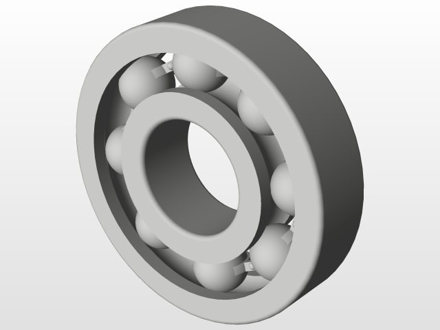 Ball Bearing Design and assemble With Solidworks 16   3D CAD