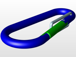 Carabiner (Not for climbing)