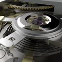 Watch Mechanism Close-up