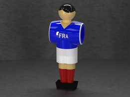 Table Soccer figure - France