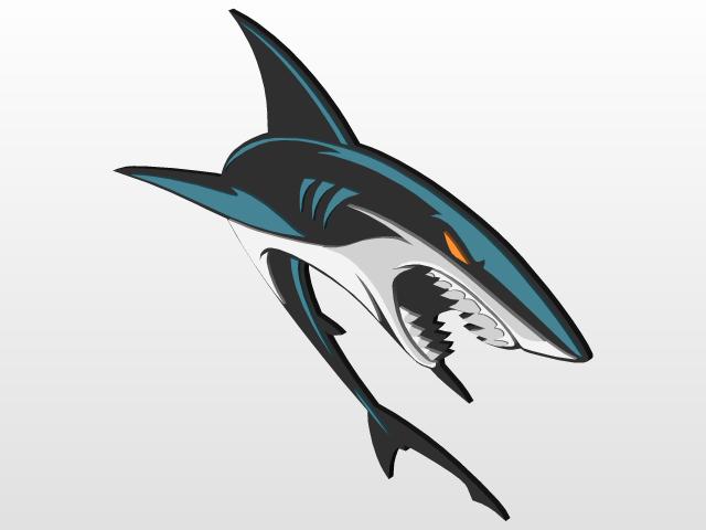 San Jose Sharks Secondary Sleeve Logo  f134ede22