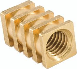 """Fitsco """"Rotofit Range"""" - Brass Threaded Insert for Plastic"""
