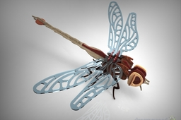 Dragon Fly Wood Craft Puzzle