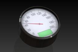 Motogadget Motoscope Classic Tachometer speedometer