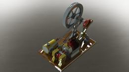 Atkinson Model Engine