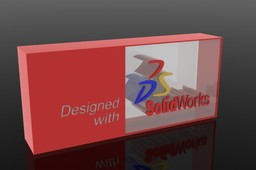 Solidworks Made with Logo