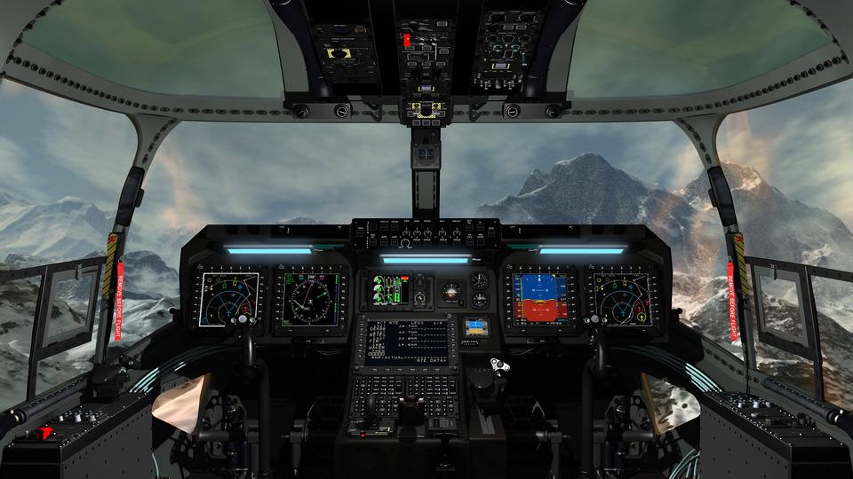 Glass Cockpit | 3D CAD Model Library | GrabCAD