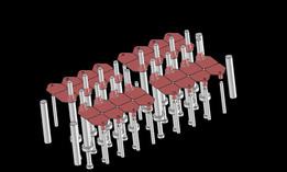 plastic barcode pattern work
