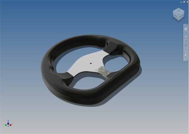 Racing steering Wheel (Formula SAE)