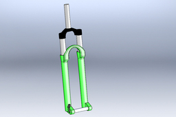 Front fork for 4x-dirt