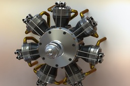 7 Cyl. Radial engine