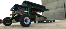 6M lightweight soil roller