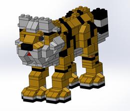 Lego tigar