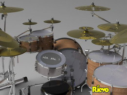 Dream Custom Drums Set (Grand Finale)