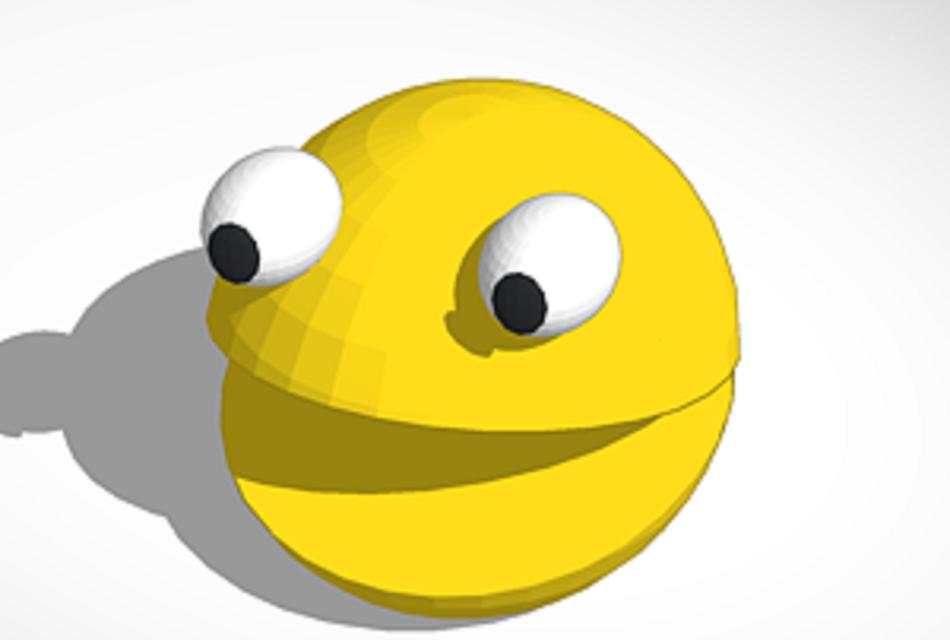 Tinkercad/ rhino Pacman   3D CAD Model Library   GrabCAD