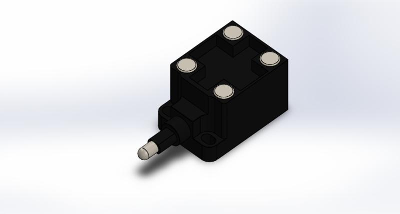 Siemens Limit switch 3SE3-020-0A | 3D CAD Model Library