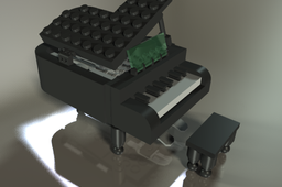 Lego Piano from China