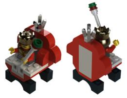 Lego 2586 Chess King