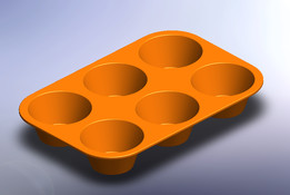 Muffin Mold (Silicone)
