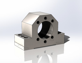 Housing for flange nuts