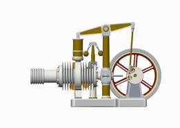 MYSTERIOUNS BEAMER STIRLING ENGINE