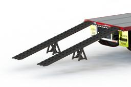 Drop Deck Trailer Ramp System