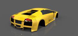 Lamborghini Murcielago LP640 widebody
