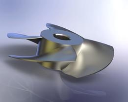 Axial pump (rotor)