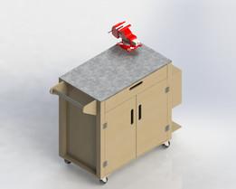 Tool Cart Plywood Carrinho Ferramentas