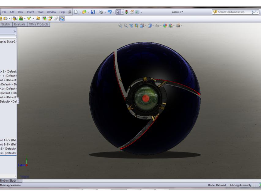 Google chrome ball | 3D CAD Model Library | GrabCAD