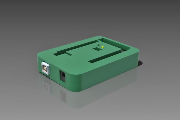 Arduino mega simple case stl d cad model grabcad