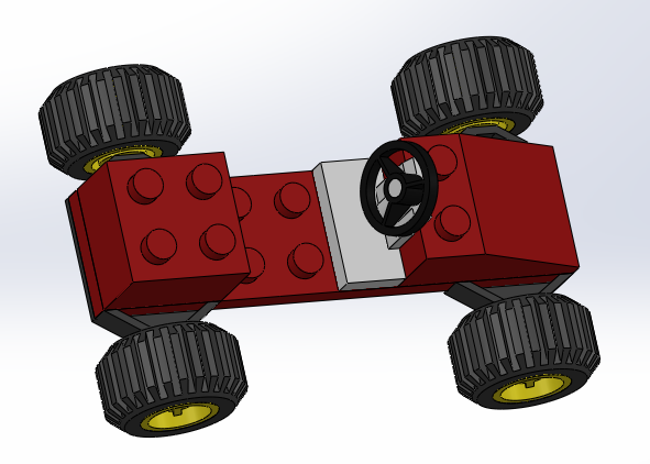 Toy Car Assembly 3d Cad Model Library Grabcad