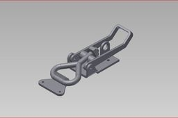 OVERCENTRE TOGGLE CLAMP