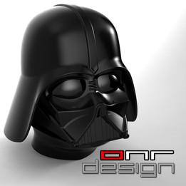 Dart Vader - Helmet and head
