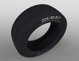 225/50 R17 Tire Desing - Lastik Tasarımı