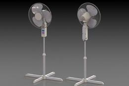 1 legged electric fan