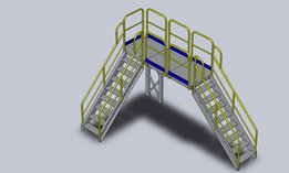 Erect-A-Step Crossover Platform