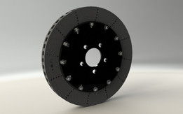 Brake disk assembly (d=380mm)