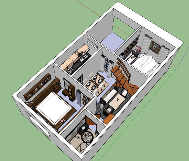 sweet home 3d cad model library grabcad - Home 3d Model
