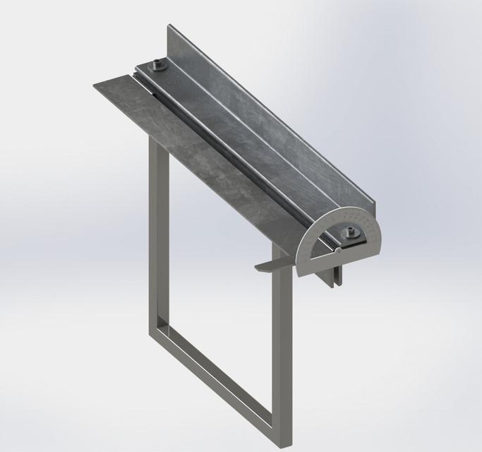 Diy Metal Brake 3d Cad Model Library Grabcad