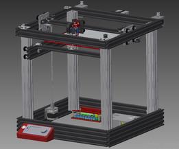 H-bot 3D printer