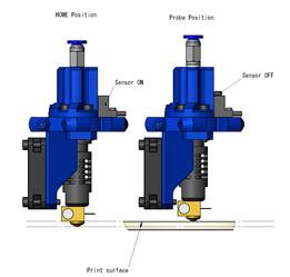 Z PROBE INTEGRATED J-Head Nozzle(CONCEPT DESIGN)