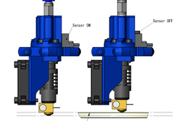 Z PROBE INTEGRATED J-Head Nozzle(CONCEPT DESIGN)