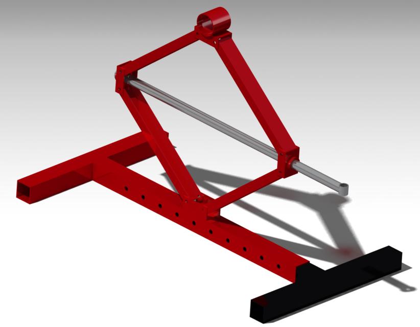 Lifting Mechanism 3d Cad Model Library Grabcad