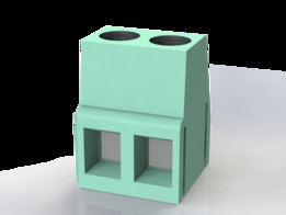 Dual Connector Block (AWG24-12)