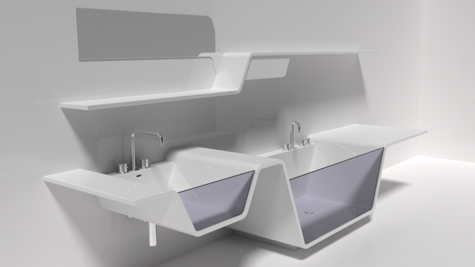 More Bathroom Stuff   Autodesk 3ds Max,STEP / IGES,Rhino   3D CAD Model    GrabCAD